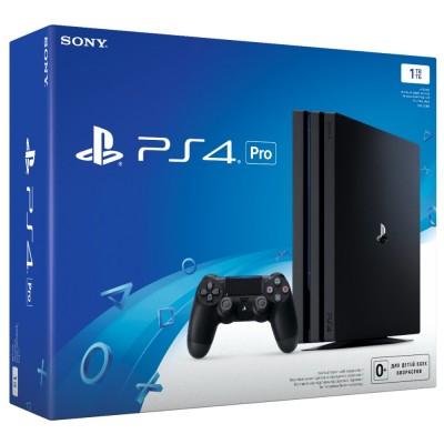 PlayStation 4 Pro 1Tb (CUH-7108B) б/у