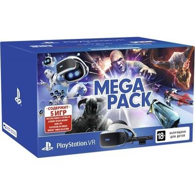 PlayStation 4 Шлем VR и камера + VR Worlds, Astro Bot, Doom VFR, Skyrim VR