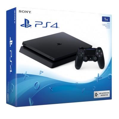 PlayStation 4 Slim 1Tb Игровая консоль