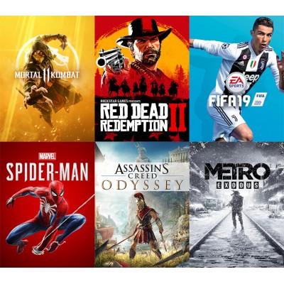 Прокат PlayStation 4 и Xbox One