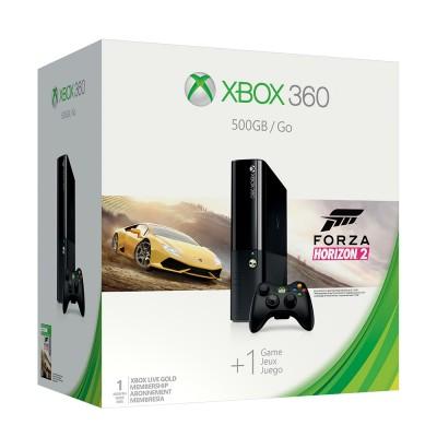 Xbox 360 E 500Gb (б/у) + 60 Игр